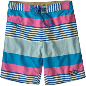 Patagonia Wavefarer Pantaloncini sport acquatici Uomo, fitz stripe/joya blue
